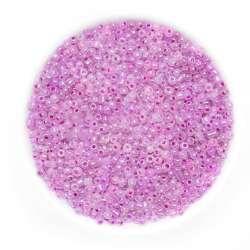 Бісер рожево-фіолетовий