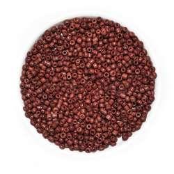 Бисер коричнево-бордовый