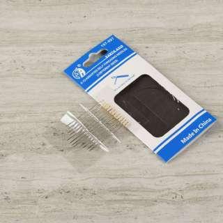 Игла ручная для слабовидящих и слепых, набор ассорти 12 шт в упаковке