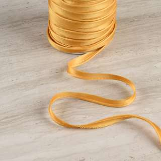 Кант атласный 11мм золотисто-бежевый