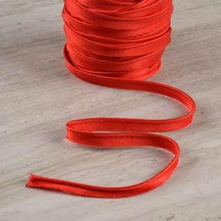 Кант атласный 11мм красный