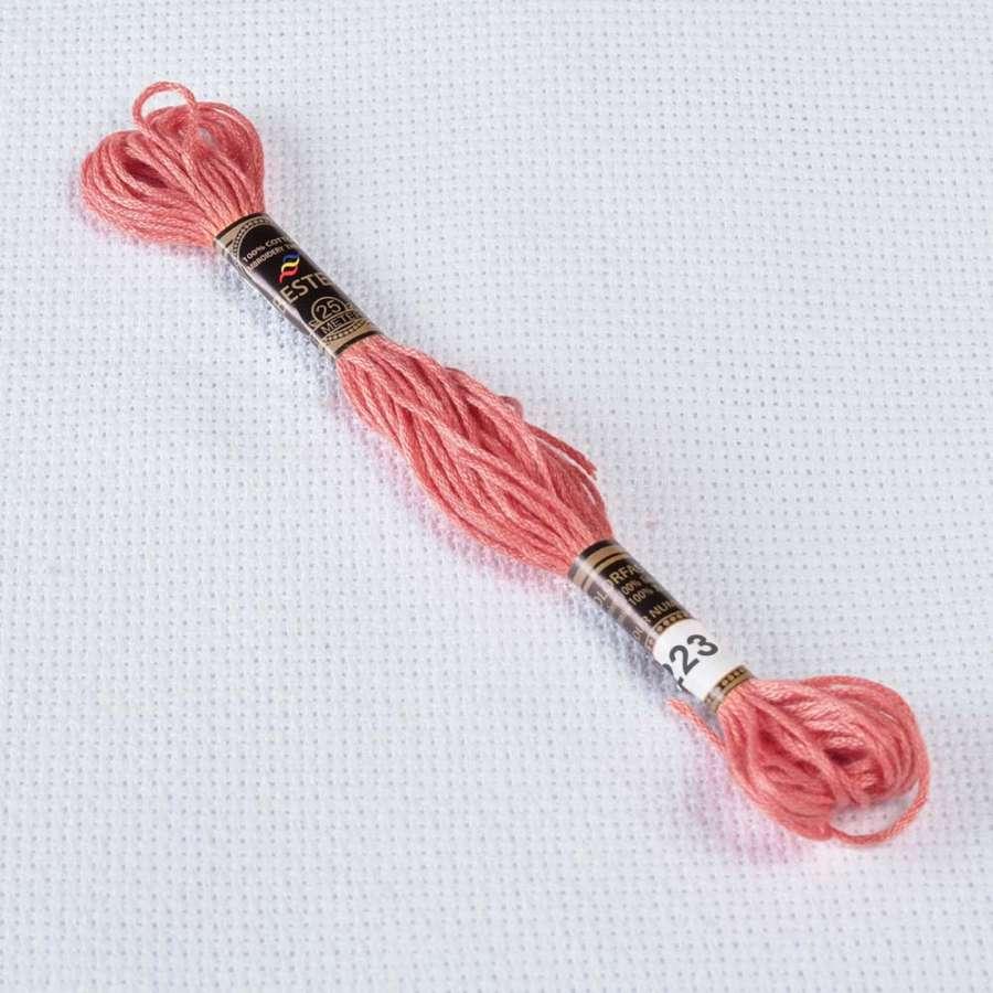 Мулине Bestex 223 8м, Розовых ракушек, св.