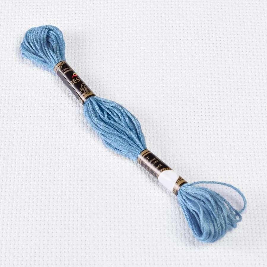 Мулине Bestex 341 8м, Сине-фиолетовый,св.