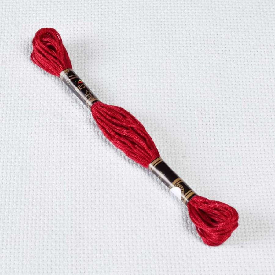 Мулине Bestex 498 8м, Рождественский красный, т.