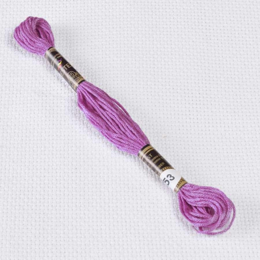 Мулине Bestex 553 8м, Фиолетовый
