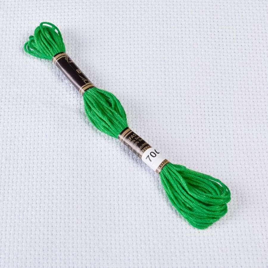 Мулине Bestex 700 8м, Рождественский зеленый, яркий