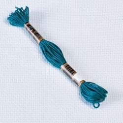 Мулине Bestex 803 8м, Переливчатый синий, т.