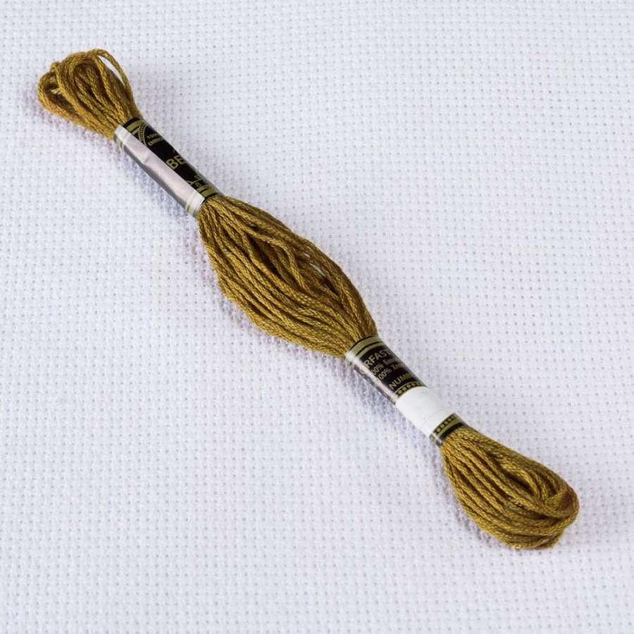 Мулине Bestex 830 8м, Оливково-золотой, т.