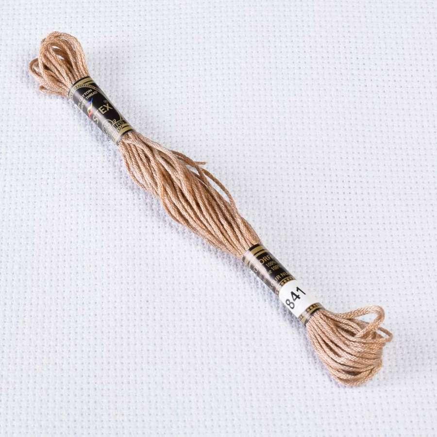 Мулине Bestex 840 8м, Бежево-коричневый, ср.