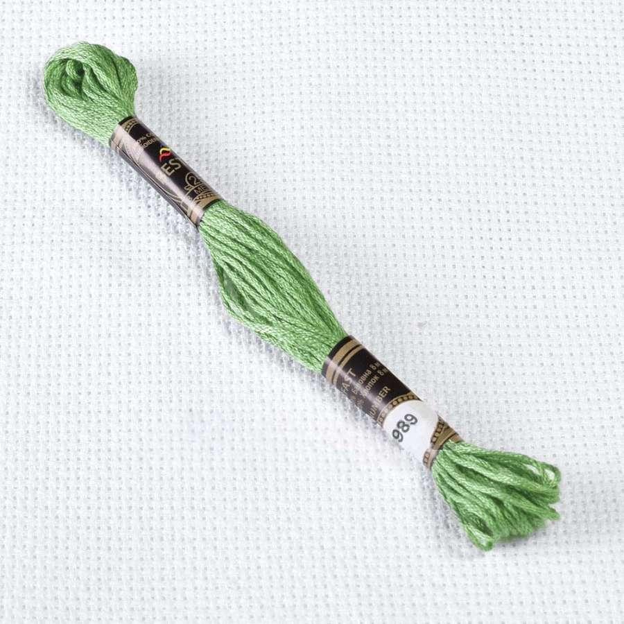 Мулине Bestex 989 8м, Зеленый лесной