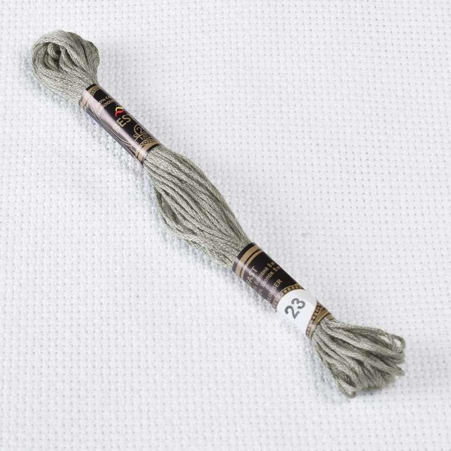 Мулине Bestex 3023 8м, Коричнево-серый, св.