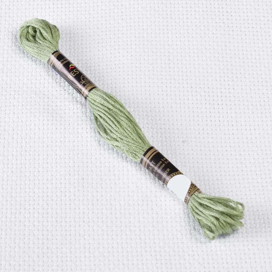 Мулине Bestex 3053 8м, Серо-зеленый
