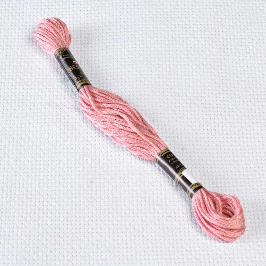 Мулине Bestex 3354 8м, Пыльной розы, св.