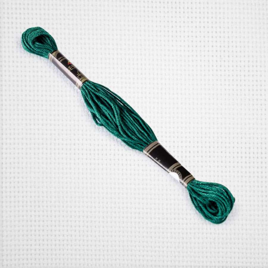Мулине Bestex 3808 8м, Бирюзовый, ультра тёмный