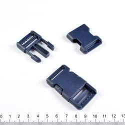 Фастекс пластик 25мм синий 56х35мм