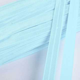 Коса бейка стрейч 15 мм блакитна