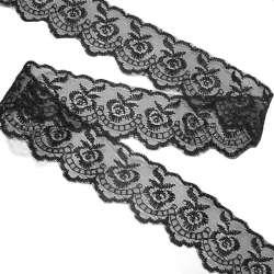 Кружево капрон 40мм черное