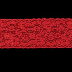 Кружево стрейч красное ш.10см