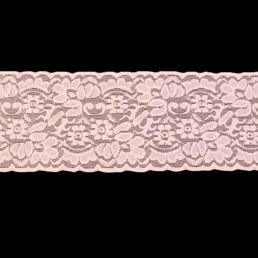 Кружево стрейч розовое светлое ш.10см