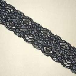 Кружево стрейч 45мм черное