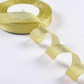 стрічка обробна з люрексом золото 1,8см