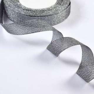 стрічка обробна з люрексом срібло 1,8см
