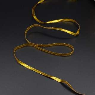 Тесьма отделочная метанить 4 мм золото, серебро
