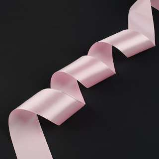 лента атласная 5см розовая светлая