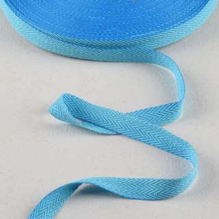 Лента киперная 15мм голубая 14В22Г27