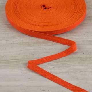 Лента киперная 15мм красно-оранжевая 14В22Г27