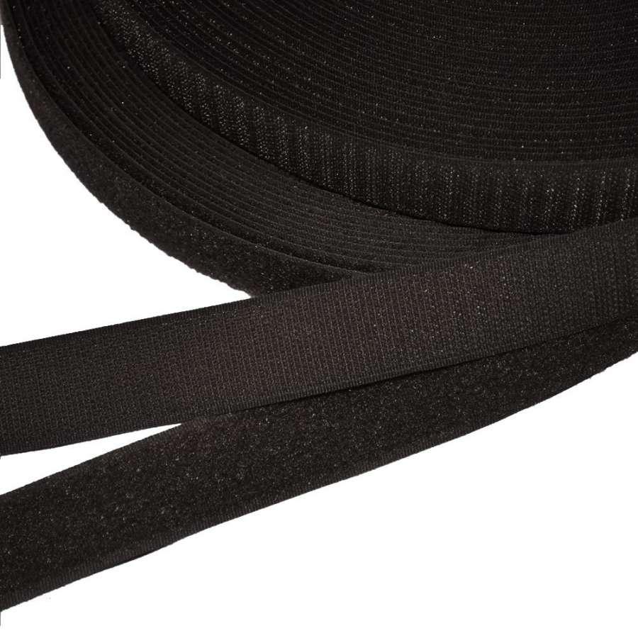Лента липучка 25мм черная №13