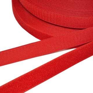 Лента липучка 25мм красная №41