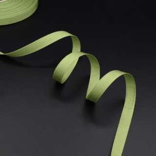 Лента репсовая 10мм оливково-зеленый