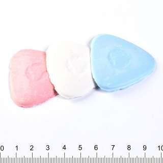 мелок портновский треугольный 5см белый, розовый, голубой