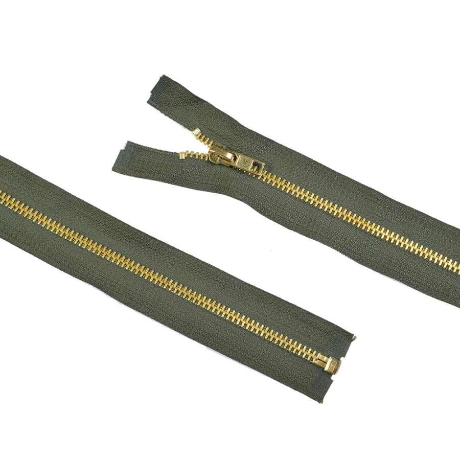 молния металл М-50 разъемная тип-7 оливковая