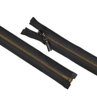 блискавка метал М-70 роз'ємна тип-5 чорна