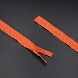 Молния потайная М-20 Тип-3 неразъемная оранжевая