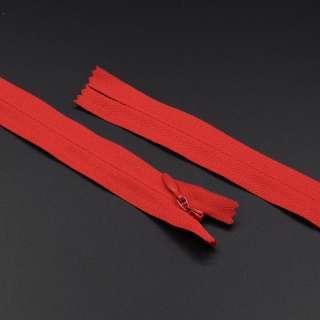 Молния потайная М-20 Тип-3 неразъемная красная