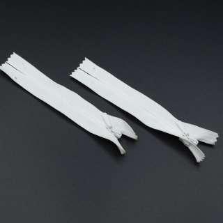 Блискавка потайна М-20 Тип-3 нероз'ємна біла