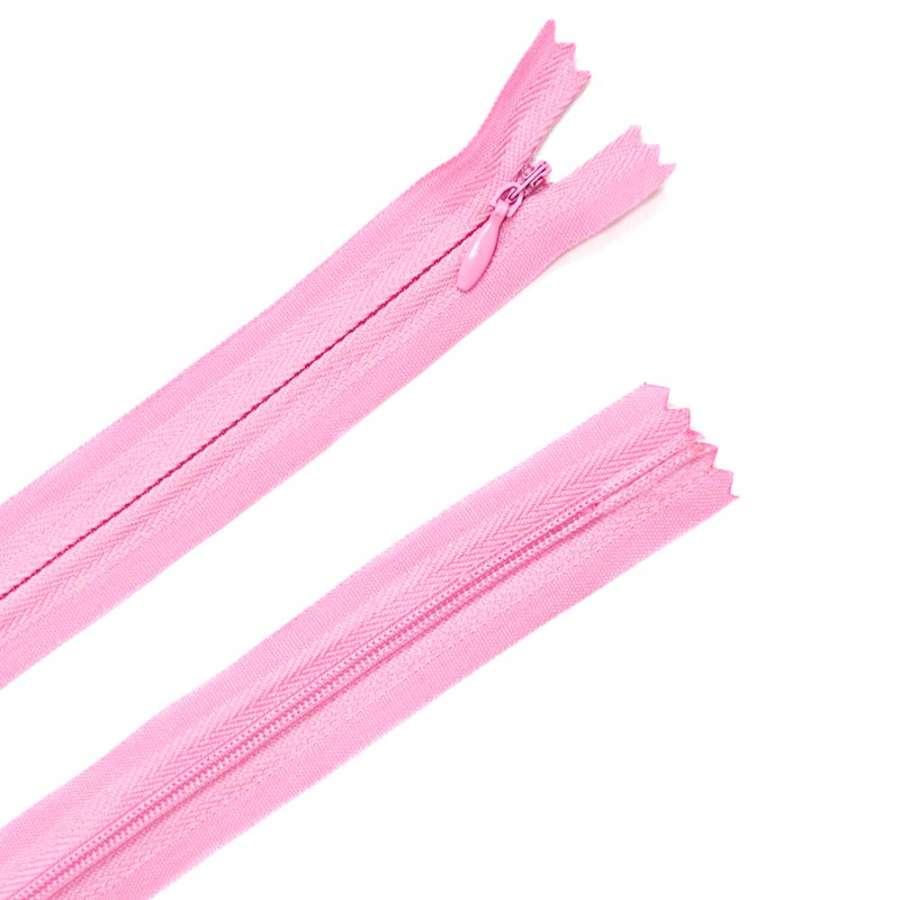Молния потайная М-50 Тип-3 неразъемная х/б розовая светлая