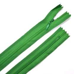 Молния потайная М-50 Тип-3 неразъемная х/б зеленая