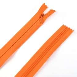 Молния потайная М-50 Тип-3 неразъемная х/б оранжевая