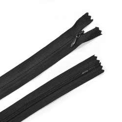 молния потайная, 50 см, черная
