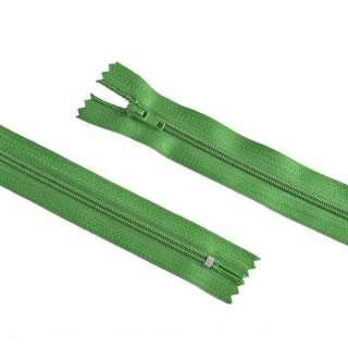 молния спиральная М-20 Тип-3 неразъемная х/б светло-оливк.-зеленая