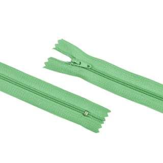 молния спиральная М-20 Тип-3 неразъемная х/б зеленая