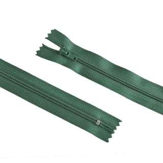 молния спиральная М-20 Тип-3 неразъемная х/б бутылочно-зеленая