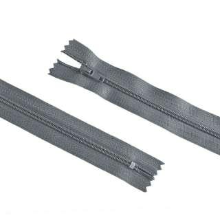 молния спиральная М-20 Тип-3 неразъемная х/б графитово-серая