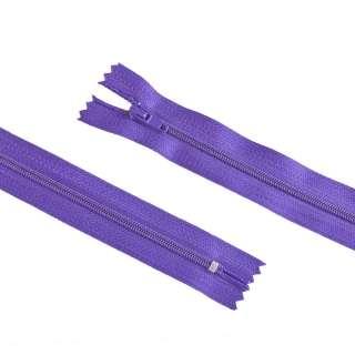 блискавка спіральна М-20 Тип-3 нероз'ємна х / б бузково-фіолетова