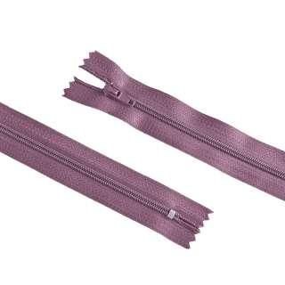 молния спиральная М-20 Тип-3 неразъемная х/б розово-сиреневая