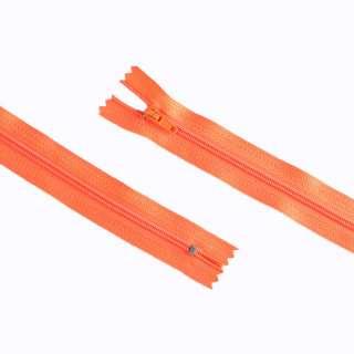молния спиральная М-20 Тип-3 неразъемная х/б оранжевая
